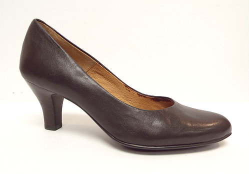 SOFFT Brown Leather Classic Pump 8
