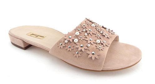 PAUL GREEN Shimmer Blush Sandals 8US/5.5UK