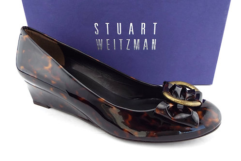 STUART WEITZMAN Caring Wedge Pumps 8.5