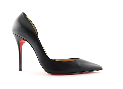CHRISTIAN LOUBOUTIN Black d'Orsay Iriza Pumps 36.5