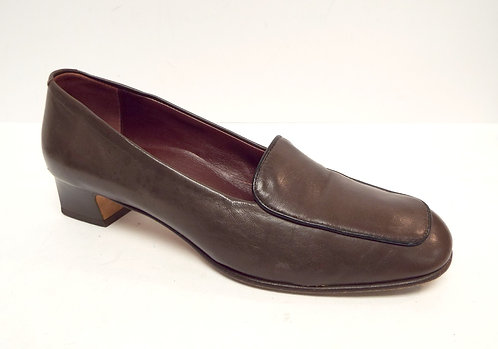 COLE HAAN Brown Italian Leather Loafer 8