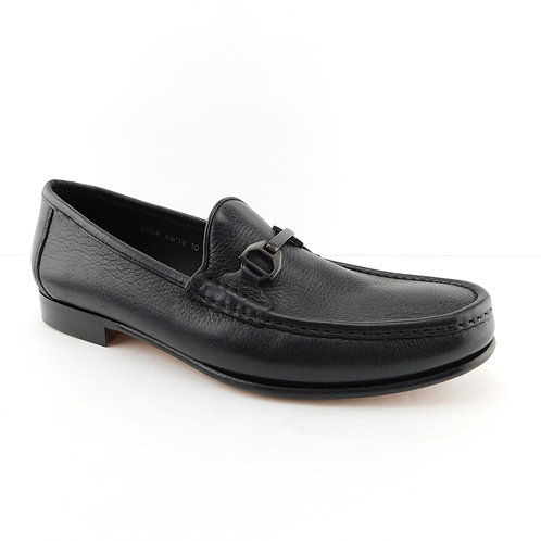 ALLEN EDMONDS Size 10 VINCI Black Leather Loafers Shoes