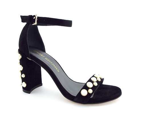 STUART WEITZMAN Pearl Stud Strap Sandals 5.5