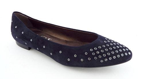 AGL Navy Blue Ballet Flats Shoes 38.5