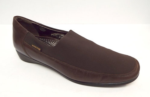 MEPHISTO Air-Relax Brown Micro Fiber Leather Loafer 11