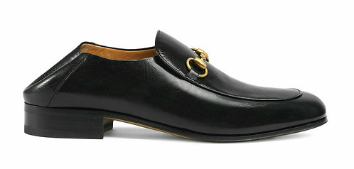 GUCCI Horsebit Black Slip-on Loafer 13US/12UK