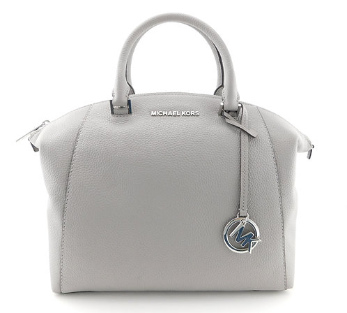 MICHAEL KORS MK Logo Satchel Tote Shoulder Bag