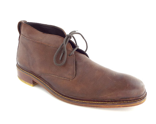 COLE HAAN Nike Air Brown Leather Chukka Ankle Boots 13