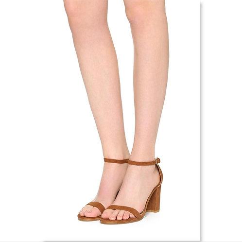 STUART WEITZMAN Saddle Ankle Strap Sandals 8