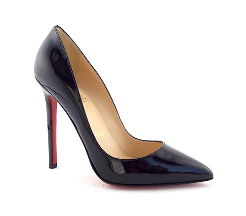 Unworn Christian Louboutin Black Classic Pumps 35