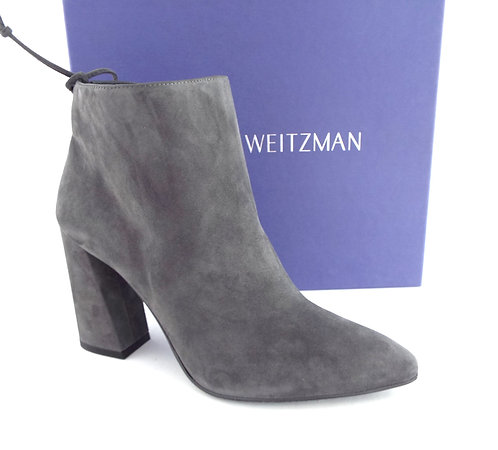 STUART WEITZMAN Gray Suede Ankle Boots8