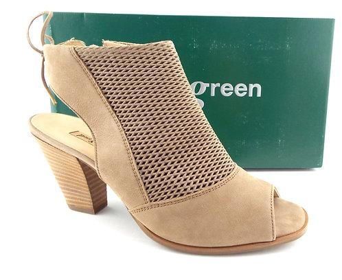 PAUL GREEN Beige Open Toe Booties UK6.5/US9