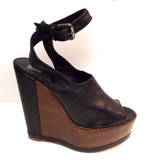 DOLCE VITA Black Platform Sandals