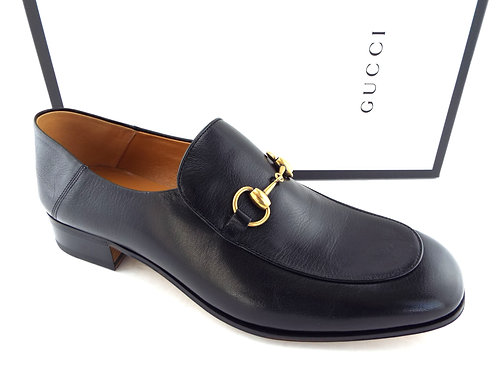 GUCCI Horsebit Black Slip-on Loafer 12US/11UK