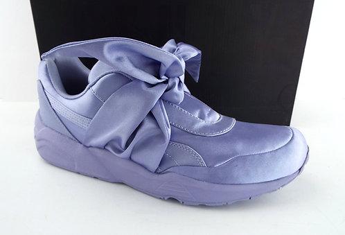 PUMA RIHANNA Fenty Purple Satin Bow Sneaker 9