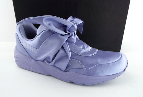 uk availability 7ff80 c943f PUMA RIHANNA Fenty Purple Satin Bow Sneaker 9
