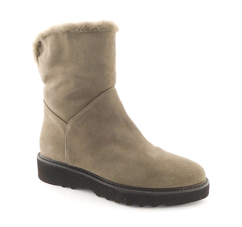 AQUATALIA Taupe Genuine Shearling Boots 7.5