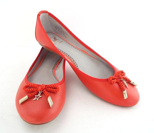 SAM EDELMAN CIRCUS AVA Red Ballet Flat 7.5