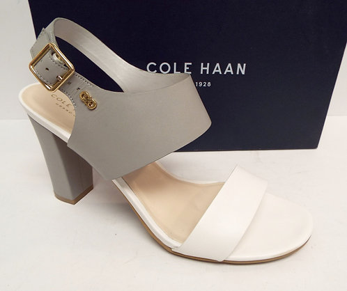 COLE HAAN OCTAVIA Gray White Sandal 10