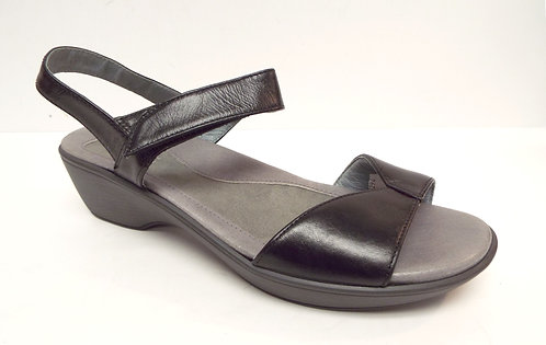 NAOT Black Ankle Strap Leather Sandal 40 / 9