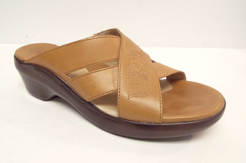 ARIAT Tan Brown Slide Sandal 9.5