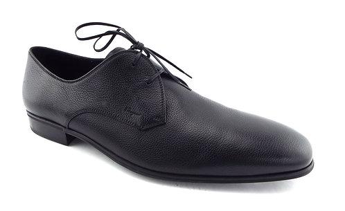 FERRAGAMO Black Logo Oxfords Dress Shoes 11