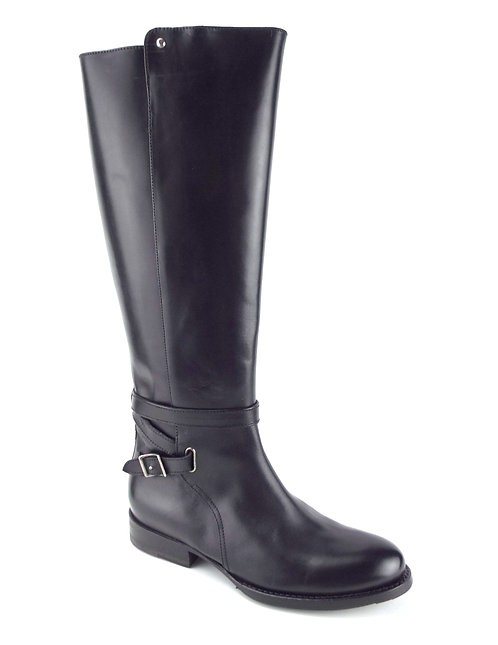 FRYE Black Leather Riding Style Boot 7
