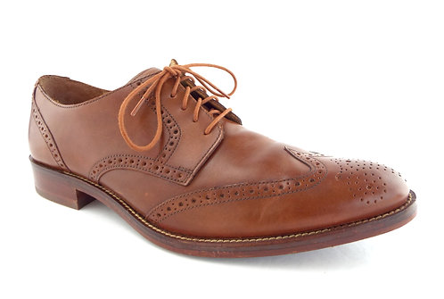 COLE HAAN WINGTIP Brown Tan Leather Oxfords 12