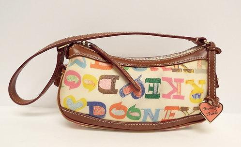 DOONEY & BOURKE Multi Color Monogram Bag