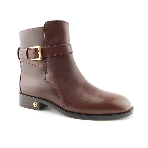 TORY BURCH Size 7 BROOKE Brown Ankle Boots Bootie