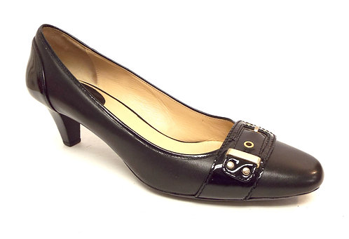 COLE HAAN Black Leather Pump 9
