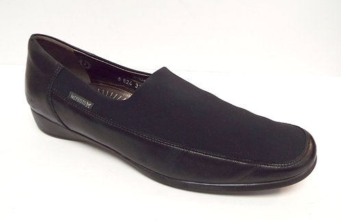 MEPHISTO Air-Relax Black Micro Fiber Leather Loafer 11