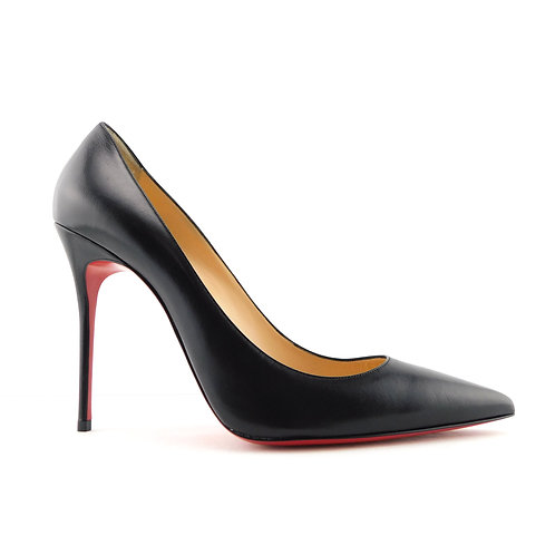 New CHRISTIAN LOUBOUTIN Size 11 KATE Black Kid Heels Pumps Shoes 42 Eur