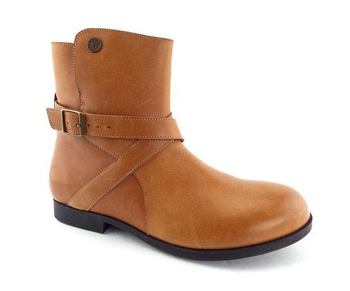 BIRKENSTOCK Camel Leather Booties 39EU/8US
