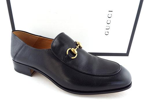 GUCCI Horsebit Black Slip-on Loafer 8.5US/7.5UK