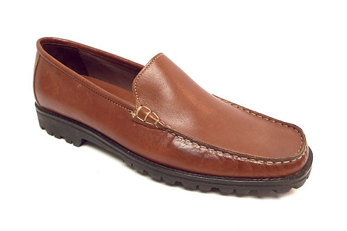 COLE HAAN Country Brown Leather Loafer 9