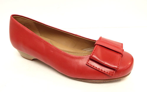 HOTTER Red Bow Ballet Flat