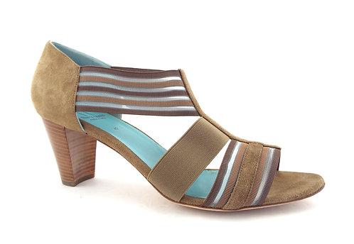 THIERRY RABOTIN Beige T-Strap Sandals 42 / 11
