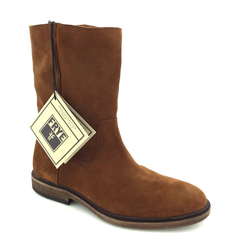 FRYE Walnut Brown Suede Ankle Boots 9