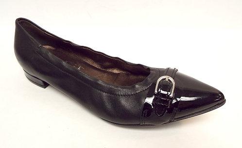 AGL Black Ballet Flats