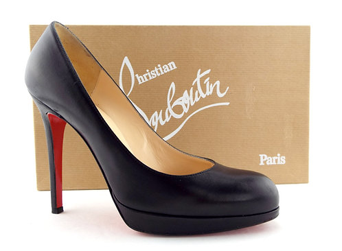 CHRISTIAN LOUBOUTIN Black Platform Heel Pumps 36.5 Christian Louboutin