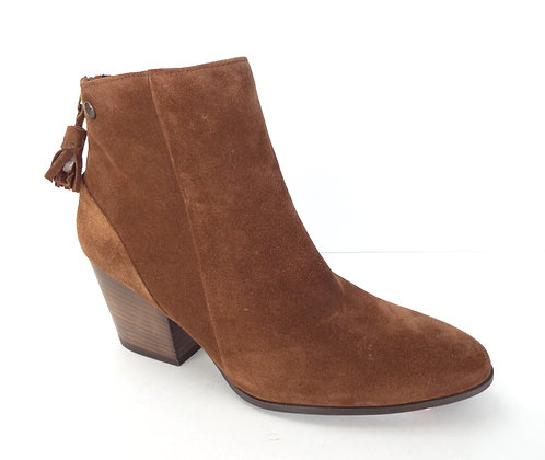 PAUL GREEN JADA Oak Suede Water Resistant Ankle Boot 9