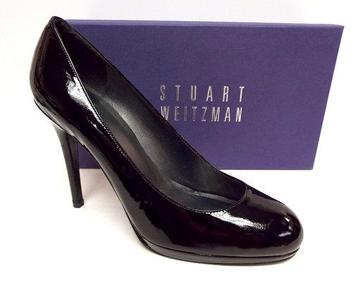 STUART WEITZMAN Black Patent 'Swoon' Pumps