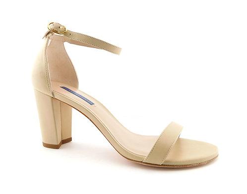 STUART WEITZMAN Nearlynude Nude Strap Pump Sandals 9.5