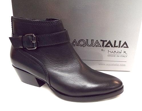 AQUATALIA Black FANNY Waterproof Ankle Boot 5