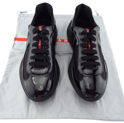 PRADA Black Men's Low Top Sneakers UK6/US7