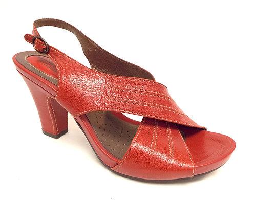 New CLARKS Artisan Red Slingback Sandal