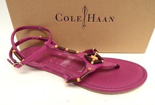 COLE HAAN Pink 'Larissa' Ankle Strap Sandals