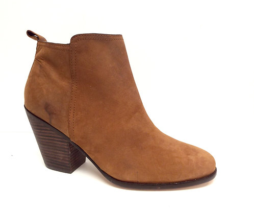 COLE HAAN Chestnut Brown Ankle Boot 11