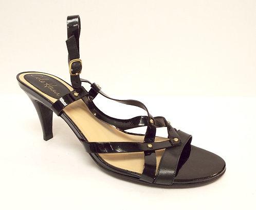 COLE HAAN Nike Air Black Patent Slingback Sandal 9